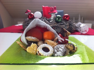 Nikolaus, Weihnachten, Plätzchen