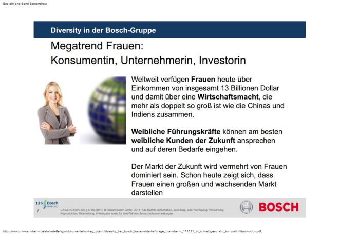 Frauenquote, Management, Diversity