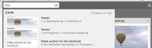 Trello, Kanban, Board, online, kostenlos, Suche, Update, lean
