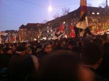 Flüchtlinge, willkommen, Demo, Kundgebung , no, pegida