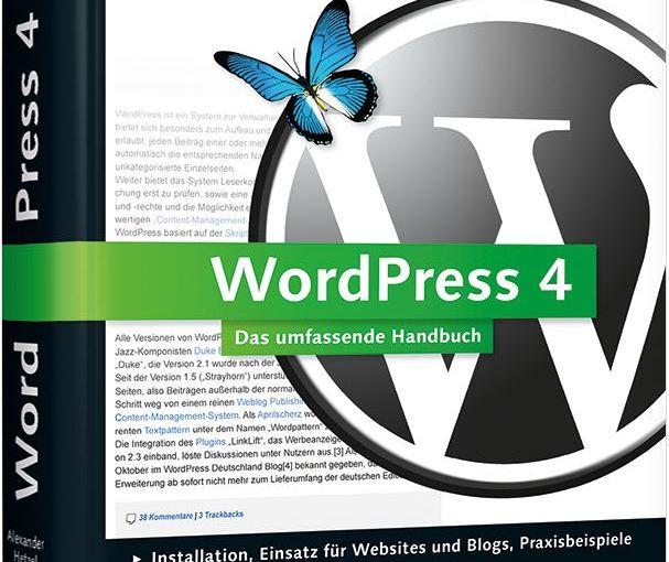 WordPress 4 – Das umfassende Handbuch geht an…