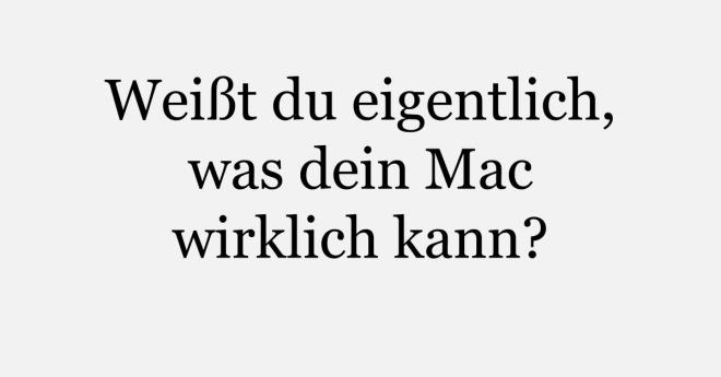 Mac - Tiips und Tricks zum Download